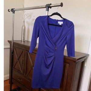 Purple Cocktail Dress by Jessica Simpson